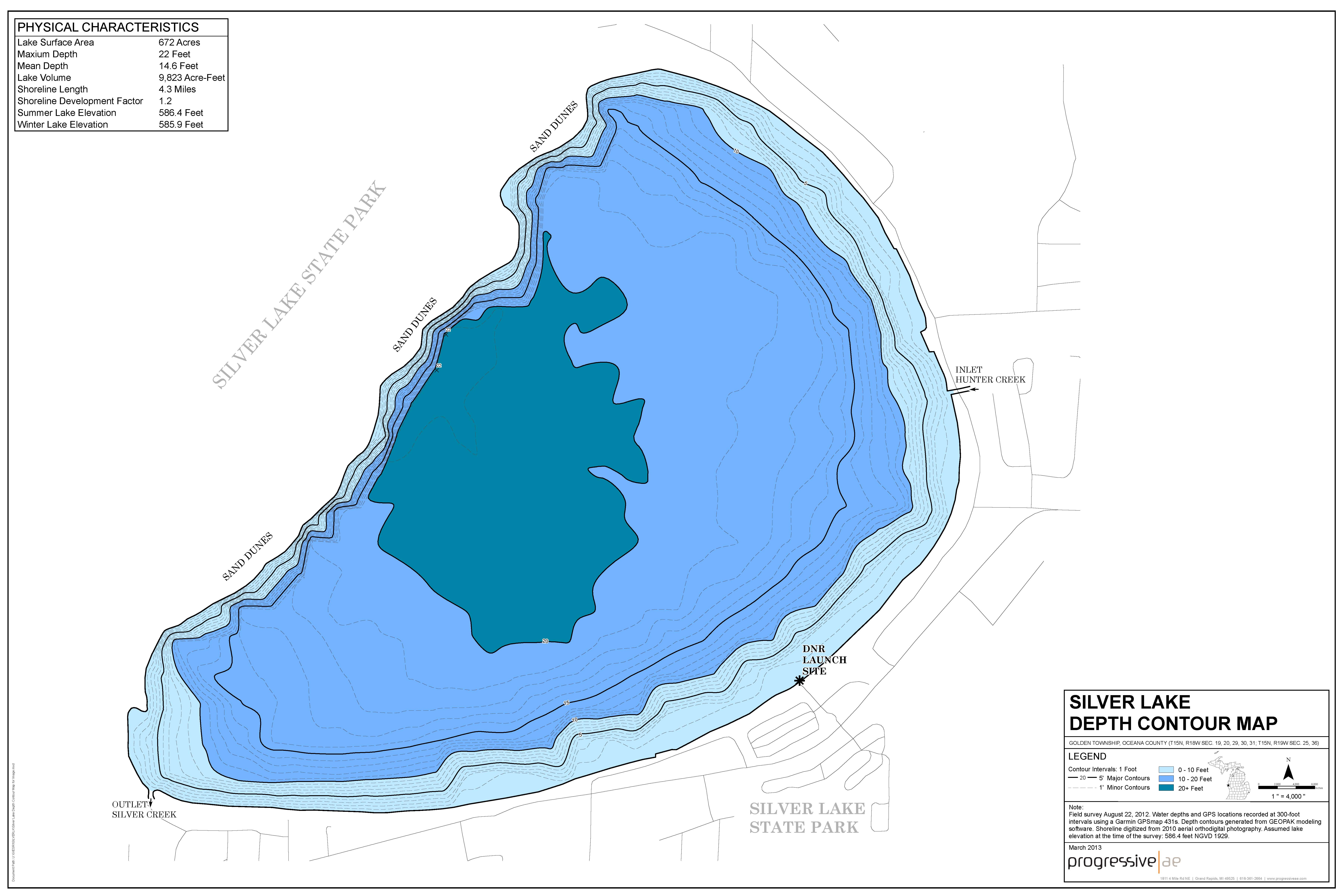 Evaluation Reports Maps Friends Of Silver Lake A Community - Lake mapping software